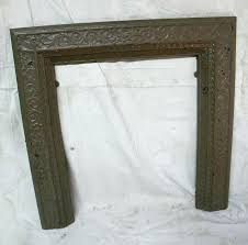 cast iron fireplace parts antique fireplace surround cast iron fireplace parts names