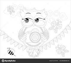 Doodles Ontwerp Van Tilllate Com Fotograaf Uil Nemen Kleurplaat Boek