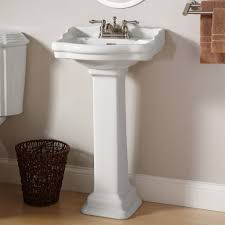 beautiful small pedestal sinks for powder room