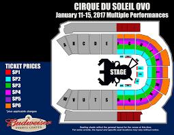 Denver Cirque Du Soleil Seating Chart Budweiser Events Center Loveland Co Details
