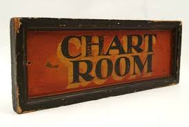 Old Nautical Charts For Sale Great Old Nautical Antique Boat Sign For The Chart Room