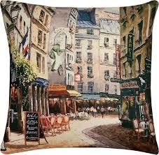 """<b>Чехол для декоративной</b> подушки <b>Apolena</b> """"Городской пейзаж ..."""