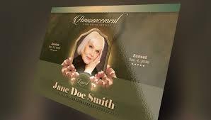 Free Download Funeral Program Template Magnificent 48 Funeral Program Flyer Templates Free Premium PSD Downloads