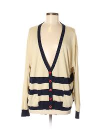 Details About Knitted Dove Women Brown Cardigan Med