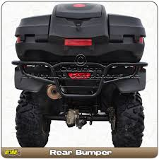 2018 honda 500 rubicon. brilliant rubicon honda foreman trx 500 rancher trx420 20142018 rear atv bumper brush guard  bison inside 2018 honda rubicon t