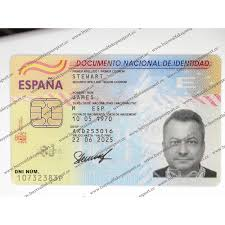 Identity Novelty Online Of Spain Id Spanish Real Card For Identification Buy Id Fake Registered Card Original Online Sale
