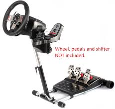 g29 racing steering wheel stand for logitech g27 g25 g29 and g920 wheels deluxe original wheel stand pro stand wheel and pedals not included
