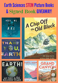earth sciences stem picture books