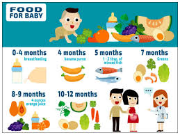 5 Month Old Baby Food Chart Food Chart For Your Baby Boldsky Com