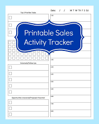 sales calling plan template sales activity tracker daily planner cold call tracker template