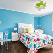 Colorful Ideas For Painting Teen Bedrooms