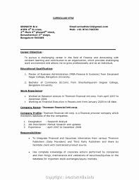 Styles Objective For Resume For Freshers Resume Templates Best