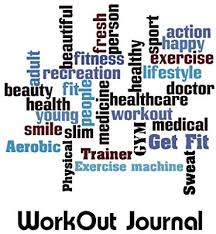 Workout Journal Workout Diary With Food Exercise Journal