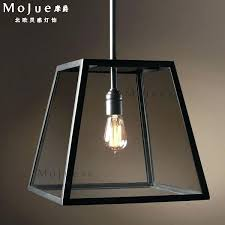 rectangular pendant light. Rectangular Ceiling Light Fixtures Pendant Stunning Vintage Glass Box