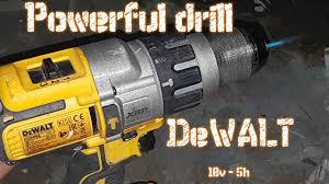 Powerful drill great empirical proof <b>Dewalt</b> DCD996P2-<b>QW</b> 18v Li ...