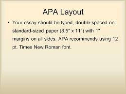apa review ppt video online apa layout