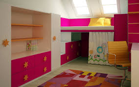 Pink Childrens Bedroom Bedroom Childrens Room Kids Room Design Pink Kids Room Interior