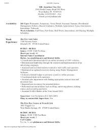 Performa Of Resume Gorgeous Resume Format Usa Jobs Resume Format Inspirational Jobs Resume