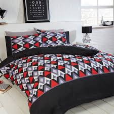 conrad single duvet cover red free delivery over 30 on all uk orders