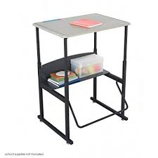 standing desk for school. Perfect Standing Safco Products AlphaBetter AdjustableHeight Desk 1201BE 28u0026quot X  20u0026quot Standard For Standing Desk School A