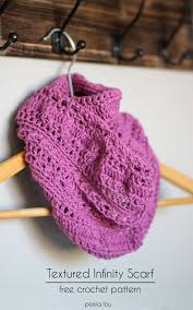 Crochet Infinity Scarf Patterns Cool Design Ideas