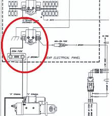 rv net open roads forum help stranded rv will not start road Freightliner Starter Wiring Diagram while perusing the gillig wiring diagram i also found a neutral relay, in what they call the front electrical panel, now all i have to do is find that panel starter wiring diagram for 1994 freightliner