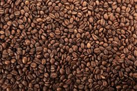 coffee beans background. Exellent Background In Coffee Beans Background Colourbox