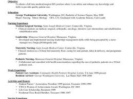 Registered Nurse Resumes Samples With Rn Resume Bag The Web Cology