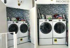 laundry closet laundry room progress 2 closet organizer laundry hamper