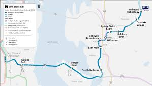 Downtown Seattle Light Rail Map East Link Extension Project Map And Summary Sound Transit