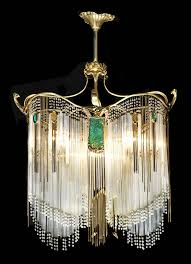Art Nouveau Lighting Art Nouveau Chandelier Hector Guimard Own Something This