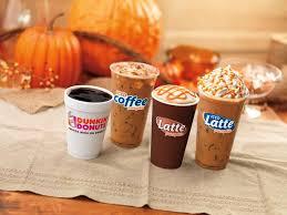 Dunkin Calorie Chart Pumpkin Coffee Lattes Are Back At Dunkin Dunkin Donuts