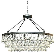 crystal drop chandelier large