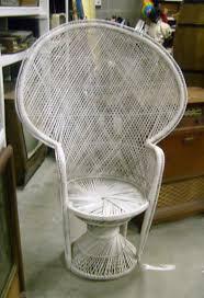 white wicker chair. Wicker 20Chair 20Peacock 20Back Md Random 2 White Chair Within Design 10 R