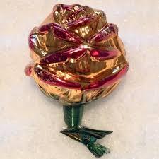 Inge Glas Rose Mit Clip 6 Cm