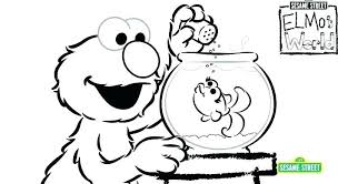 Free Sesame Street Coloring Pages Coloring Pages Printable Free