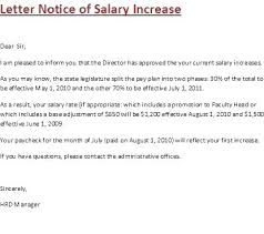 Raise Rent Letter Increment Letter Template Salary Letter Image Confirmation Letter