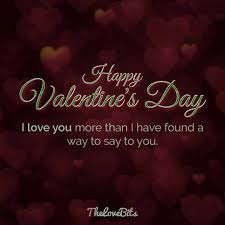 Valentines Day Quotes For Her Stunning 48 Valentine's Day Quotes For Your Loved Ones TheLoveBits