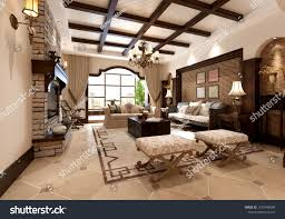 Chinese style living room ceiling Ceiling Design 3d Render Of Chinese Style Living Room Openchinacart Render Chinese Style Living Room Stock Illustration 1207940086