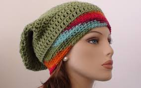 Hipster Beanie Crochet Pattern Extraordinary Fruit Salad Crochet Slouchy Beanie Pattern Crochet Hooks You