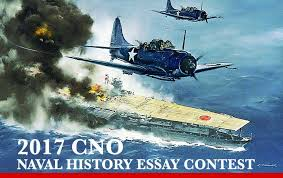 cno essay contest national naval aviation museum the chief of naval operations cno has announced the 2017 cno naval history essay contest and is calling for submission of papers by 30 2017