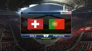 SUIÇA VS PORTUGAL QUALIFICAÇÃO MUNDIAL 2018 06/09/16 - YouTube