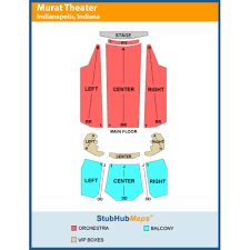 The Murat Theatre At Old National Centre Events And Concerts