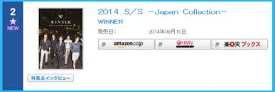 Winner Ranks 2 On Oricon Charts With Debut Album