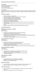 accounting major resume - Accounting Major Resume