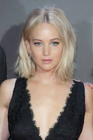 Jennifer Lawrence New Hair Style black textured choppy bob hairstyle tips 7896 by wearticles.com