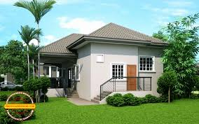 exquisite elevated bungalow house design 10 bungalow single story modern house with floor plans and