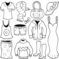 Coloring pages are one of the children's most favorite activities, help your little one learn about clothing with this images to color! Clothes Coloring Pages Surfnetkids