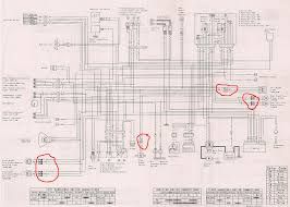 what do these symbols mean kawasaki motorcycle forums any reference to the symbols circled in red in the scan below that are on the wiring diagram for my bike in the kawasaki service manual anyone know