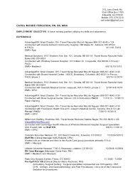 Pacu Nurse Charting Rn Resume 11 16